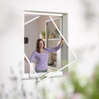 Fliegengitter-Spannrahmen-Fenster