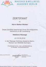 Hot Stone Massage Stefan Wüster Düsseldorf