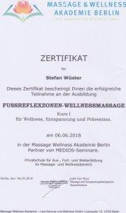 Fussreflexzonenmassage Stefan Wüster Düsseldorf