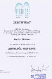 Aromaölmassage Stefan Wüster Düsseldorf