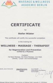Wellnesstherapeut Stefan Wüster Düsseldorf