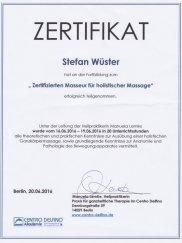 Hollistische Massage Stefan Wüster Düsseldorf