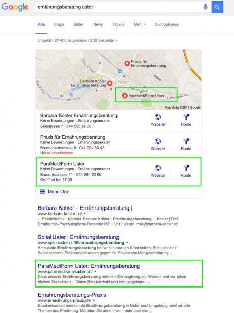 Top Google Ranking