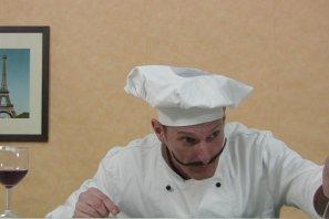 Kochshow mit einzigartigem Walkact.