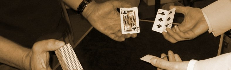 Three Card Monte is a popular variation of the shell game.