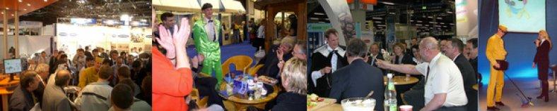 Messe Entertainment wird gezielt für Marketingziele eingesetzt.