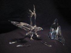 Swarovski Eagle Figurine before