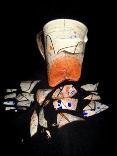 Murano Glass Pitcher Before