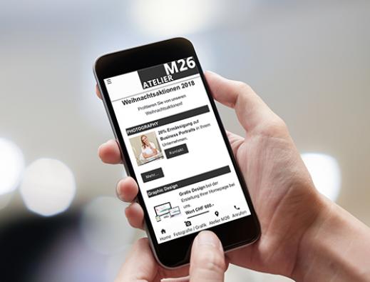 App aus dem Atelier M26