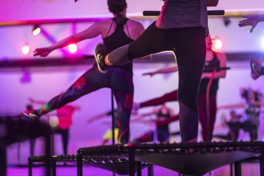 Jumping Fitness Trampolin Kurs Dortmund