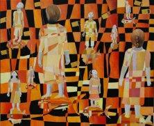 ODE AN SONNE UND WIND</br>Öl auf Leinwand, 120 x 140 cm, 2011