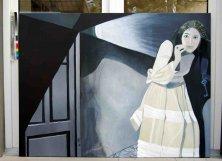 THE FORBIDDEN DOOR</br>Oil on canvas, 120 x 160 cm, 2011