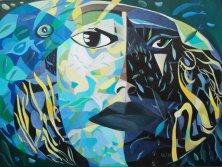 UNDINE RETURNING</br>Oil on canvas, 120 x 160 cm, 2011