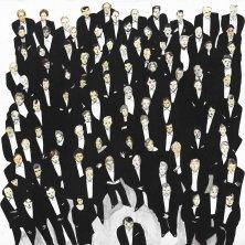 VIVA LA MUSICA</br>Auf Leinwand, 90 x 90 cm, 2005
