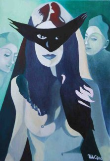ERLKING´S DAUGHTERS</br>Oil on canvas, 100 x 70 cm, 2010