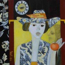 ETERNAL EVE</br >Oil on canvas, 100 x 140 cm, 2011