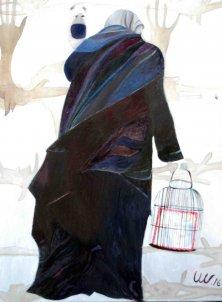 GRENZEN</br>Öl auf Leinwand, 140 x 120 cm, 2016