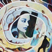 NACH ALL DIESEN FAHRTEN, ODYSSEUS</br>Öl auf Leinwand, 100 x 100 cm, 2015
