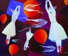SUMMERWIND</br >Oil on canvas, 100 x 120 cm, 2010