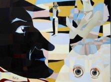 DER SANDMANN</br>Öl auf Leinwand, 120 x 160 cm, 2015