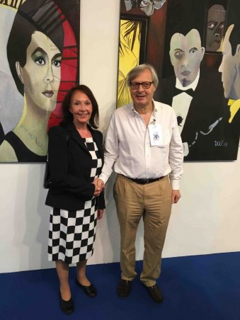 Triennale Verona mit Vittorio Sgarbi