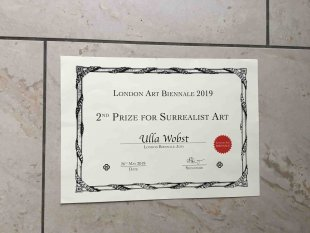 2nd Prize for Surrealist Art