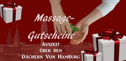 Massage-Gutschein Hamburg - Geschenkgutschein Massage Hamburg City - Innenstadt