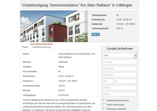 Seniorenresidenz Völklingen - Am Alten Rathaus