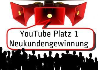 YouTube Neukundengewinnung - YouTube Platz 1 durch optimierte Videoeinstellungen