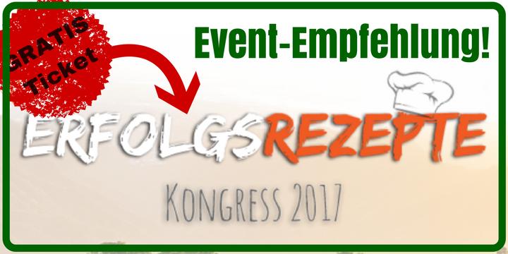 Erfolgsrezepte Kongress Event Empfehlung