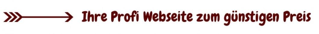 Homepage Baukasten, Angebot Webseite, selber erstellen