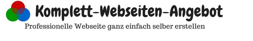 Webseite selber erstellen, Angebot Webseite, Homepage selber erstellen