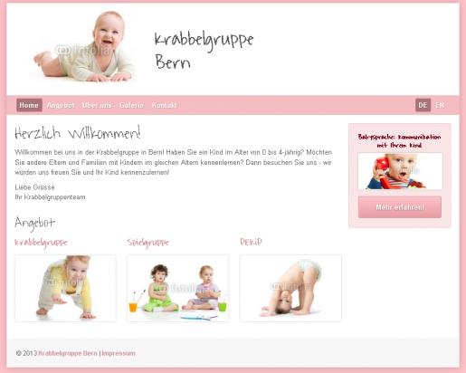 Homepage Kindergarten Krabbelgruppe
