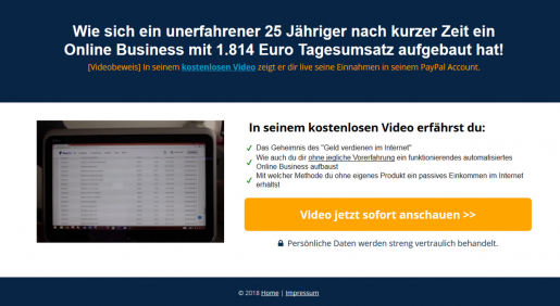 Landingpage Affiliate Marketing erstellen