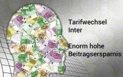 PKV-Tarifwechsel Inter - Tarifwechsel Inter bringt enorm hohe Ersparnis