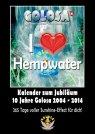 Kalender A3 zum 10jährigen Jubiläum von Golosa Hanfwasser, Lauerz