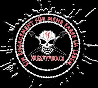 Logo Kreativpunk.ch, Sujet Farbklecks