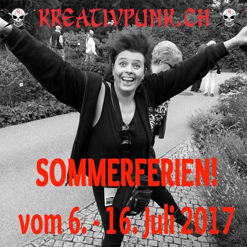 Sommerferien vom 6. - 16. Juli 2017