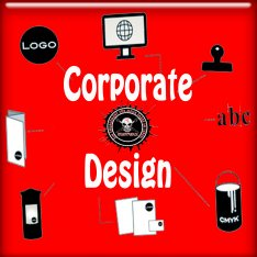 Button Corporate Design