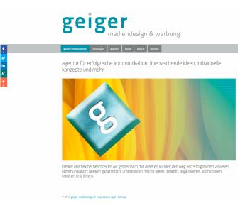 Geiger Mediendesign und Werbung