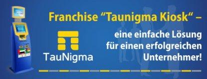 Franchise TauNigma Kiosk - Passives Einkommen schaffen durch Investition