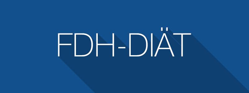 FdH-Diät (Friss die Hälfte Diät)