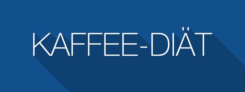 Kaffee-Diät - Abnehmen mit Kaffee