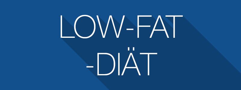 Low-Fat-Diät - Abnehmen ohne Fett