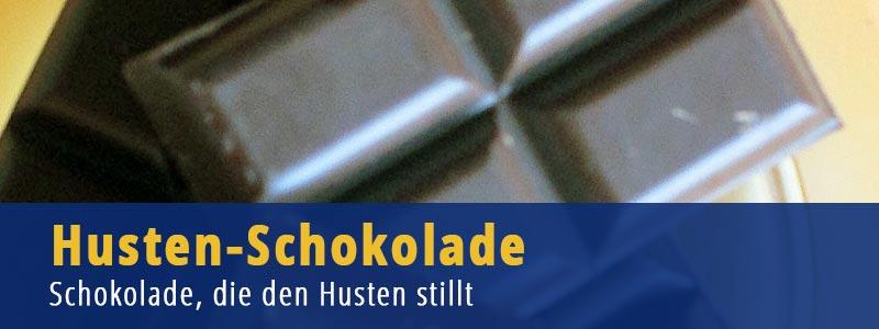 Husten Schokolade - Schokolade, die den Husten stillt