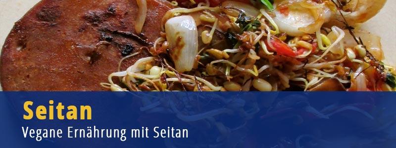 Seitan, Ernährungsumstellung, vegane Ernährung