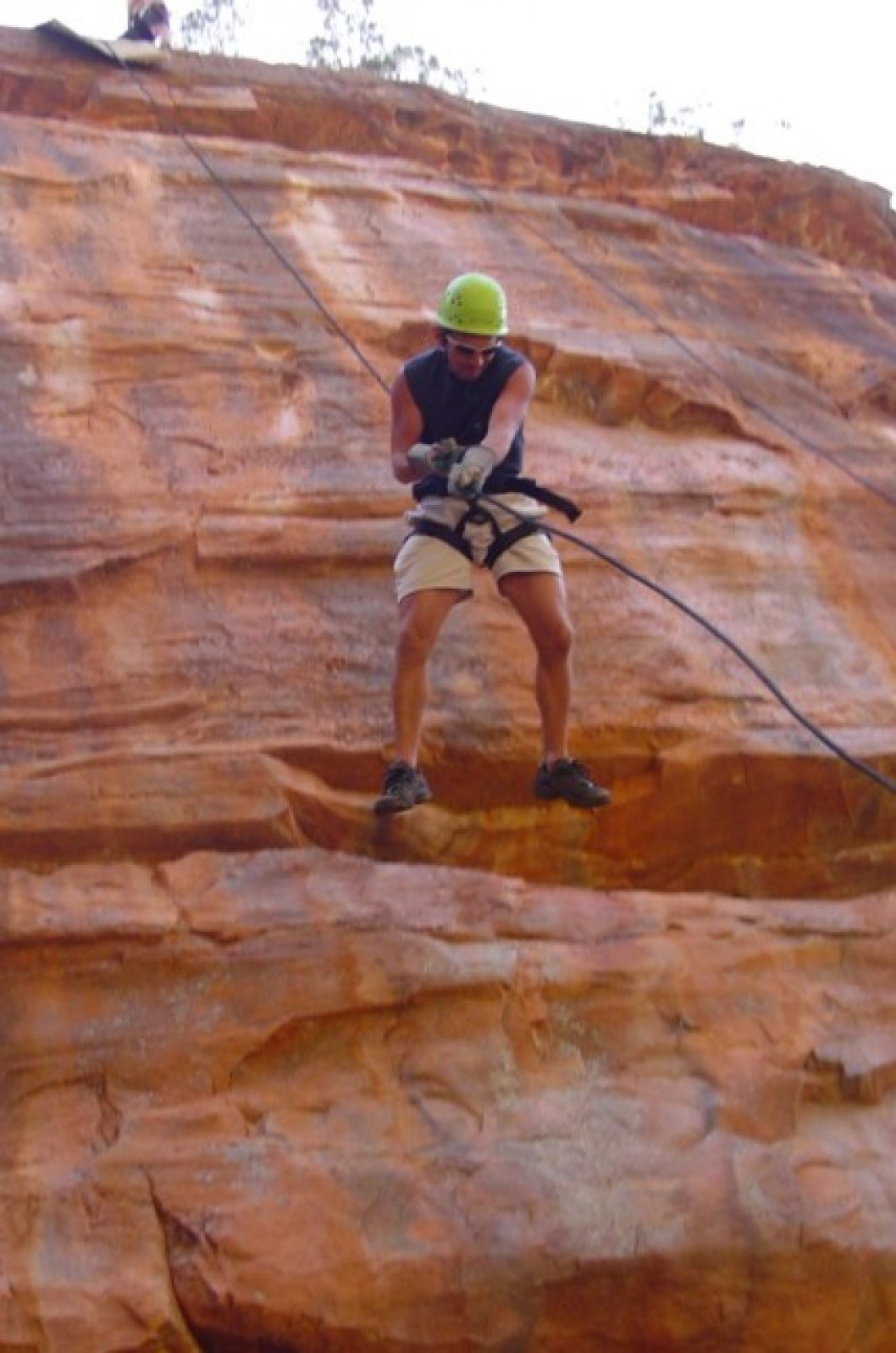 Abseil at the Kalbarri gorges