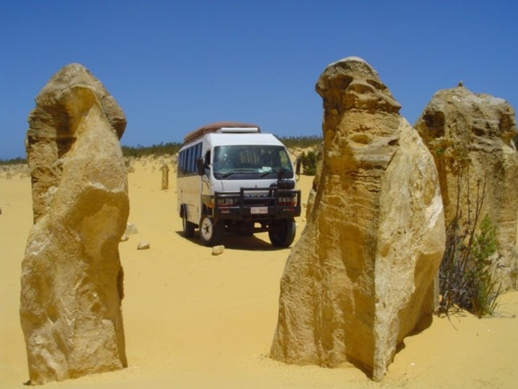The Pinnacles Desert, Australian Outback