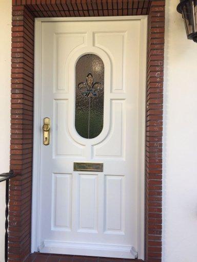 Restauration Tür nachher
