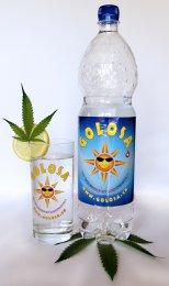 Golosa 1,5 Liter-Flasche mit Glas